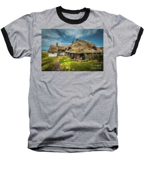 Beautiful Cottage Baseball T-Shirt by Eva Lechner