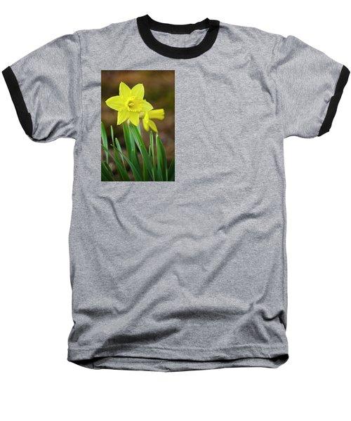 Beautiful Daffodil Flower Baseball T-Shirt