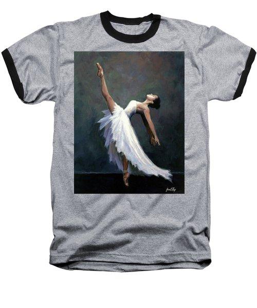 Beautiful Dancer Baseball T-Shirt by Janet King