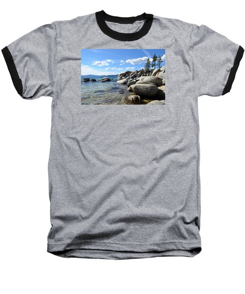 Beautiful Day At Lake Tahoe Baseball T-Shirt