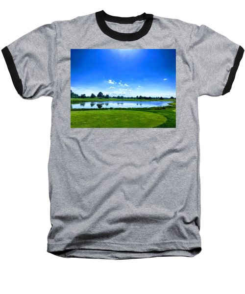 Beautiful Day Baseball T-Shirt