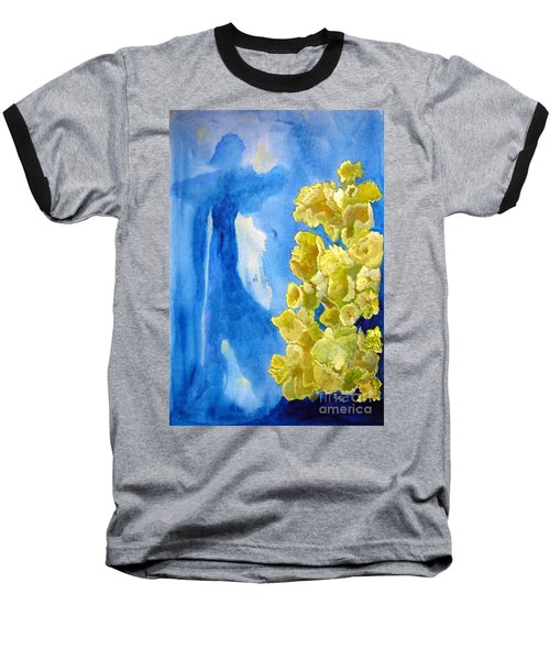 Baseball T-Shirt featuring the painting Beautiful Dreamer by Sandy McIntire