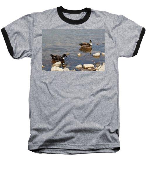 Beautiful Ducks Baseball T-Shirt