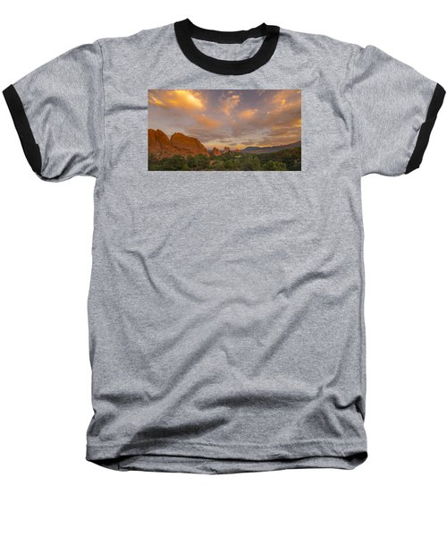 Beautiful Earth And Sky Baseball T-Shirt