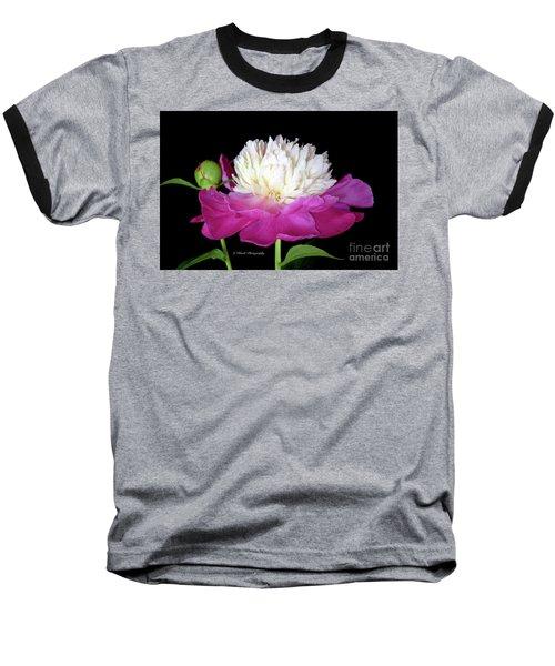 Beautiful Fancy Peony Baseball T-Shirt
