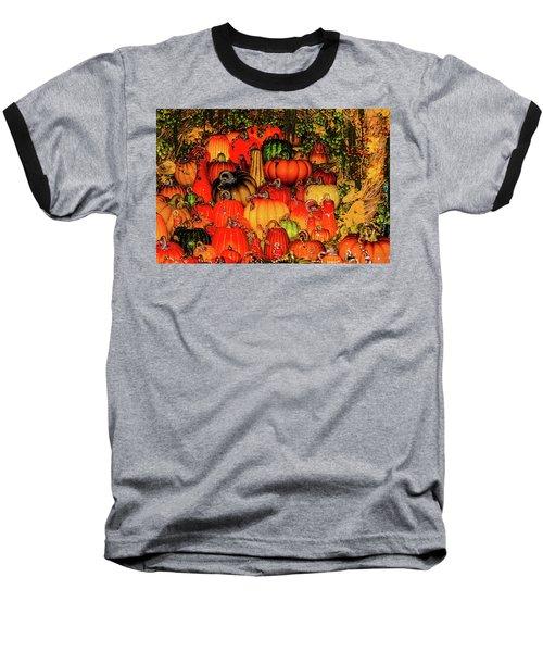 Beautiful Glass Pumpkins Baseball T-Shirt