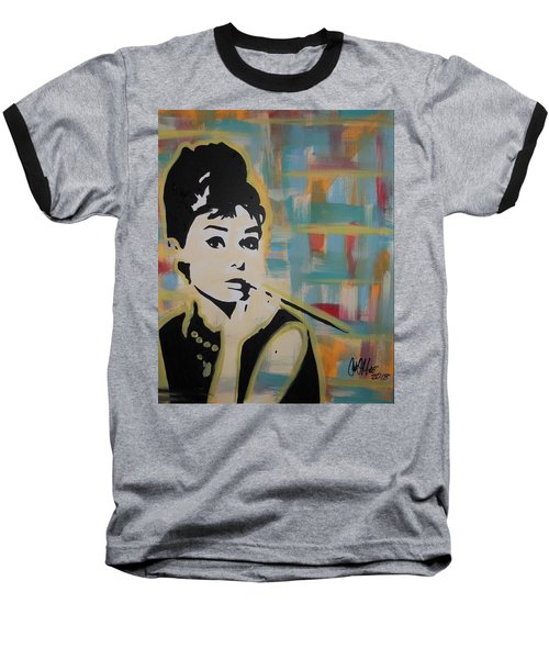 Beautiful Hepburn Baseball T-Shirt