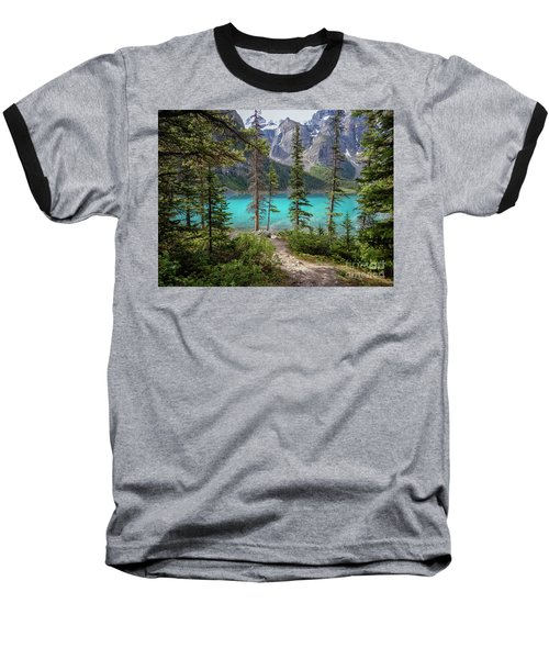 Beautiful Lake Moraine Baseball T-Shirt