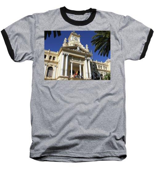 Beautiful Malaga City Hall Baseball T-Shirt