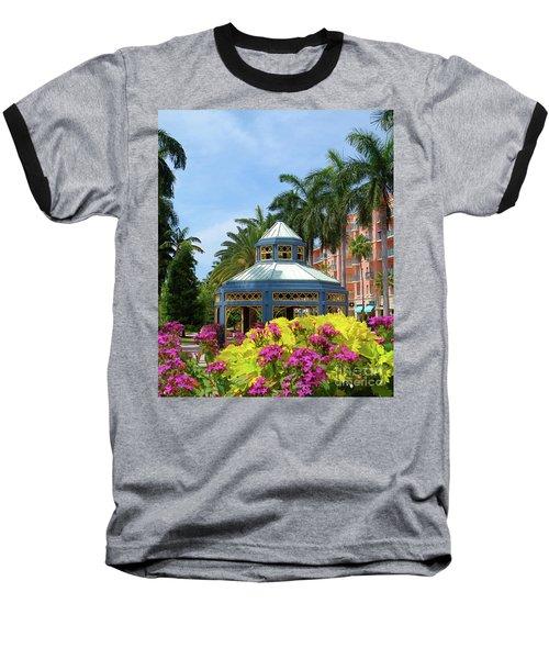 Beautiful Mizner Park In Boca Raton, Florida. #3 Baseball T-Shirt