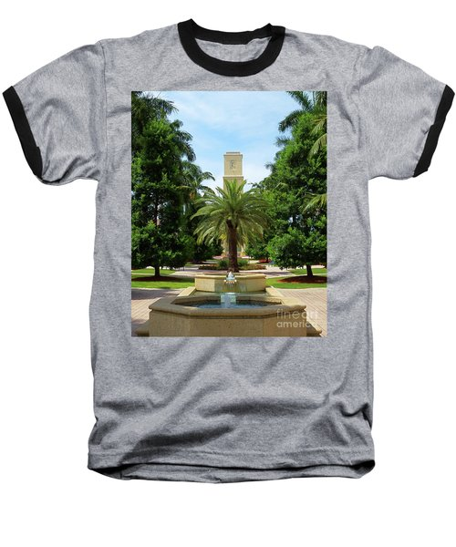 Beautiful Mizner Park In Boca Raton, Florida. #7 Baseball T-Shirt
