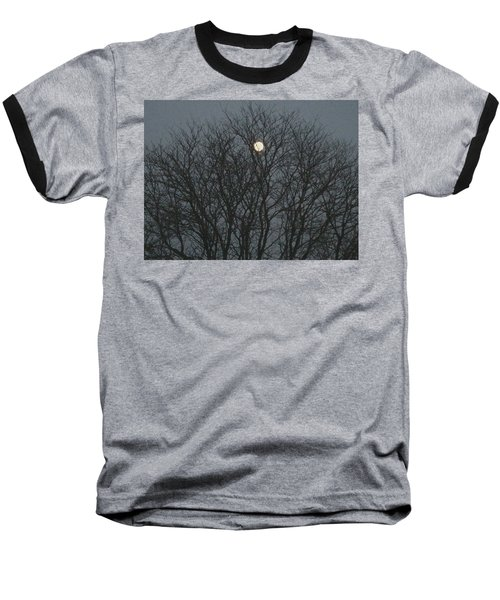 Beautiful Moon Baseball T-Shirt