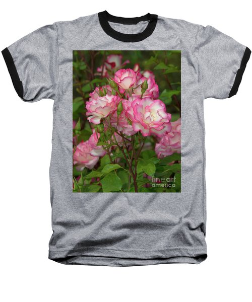 Beautiful Nicole Roses Lighter Baseball T-Shirt