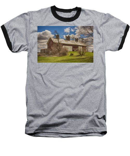Beautiful Old Barn Baseball T-Shirt by JRP Photography