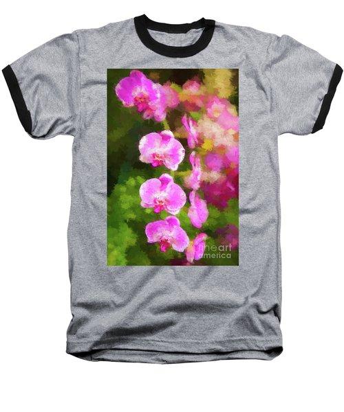 Beautiful Orchids Baseball T-Shirt