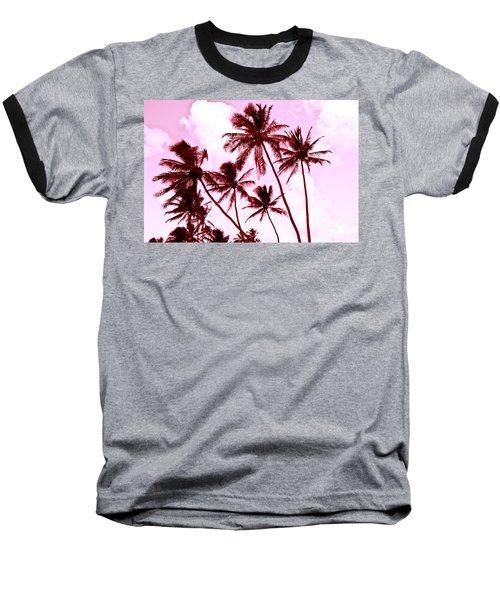Beautiful Palms Of Maui 13 Baseball T-Shirt by Micah May