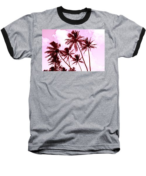 Beautiful Palms Of Maui 13 Baseball T-Shirt