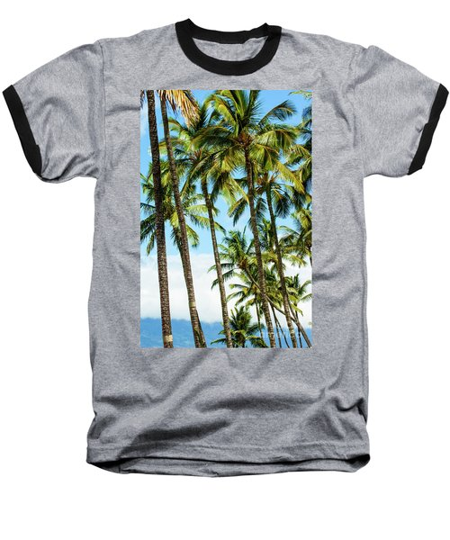 Baseball T-Shirt featuring the photograph Beautiful Palms Of Maui 16 by Micah May