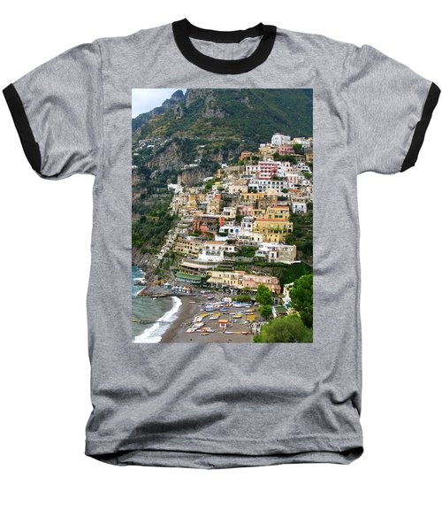 Beautiful Positano Baseball T-Shirt