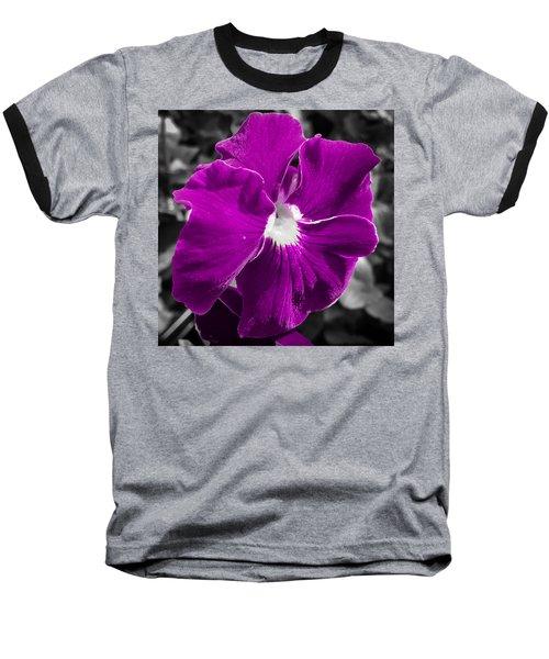 Beautiful Purple Baseball T-Shirt