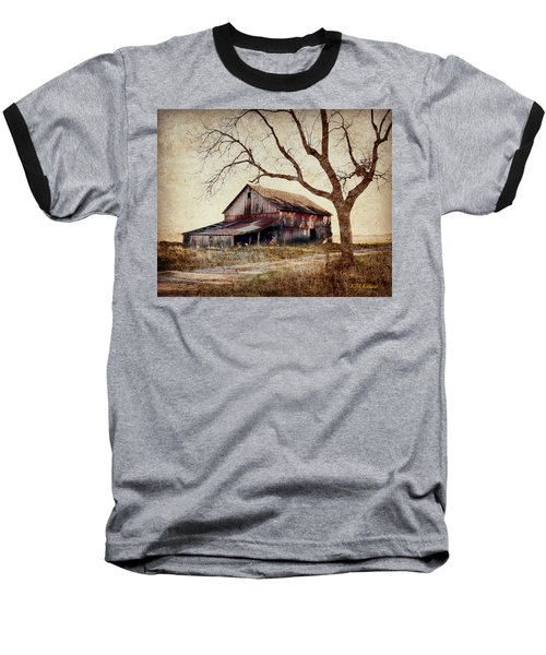 Beautiful Red Barn-near Ogden Baseball T-Shirt by Kathy M Krause