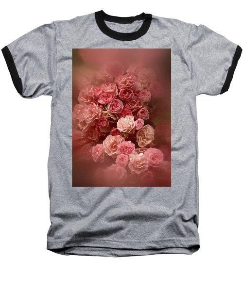 Beautiful Roses 2016 Baseball T-Shirt by Richard Cummings