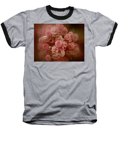 Beautiful Roses 2016 No. 3 Baseball T-Shirt by Richard Cummings