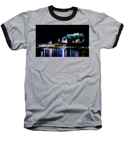 Baseball T-Shirt featuring the photograph Beautiful Salzburg by David Morefield