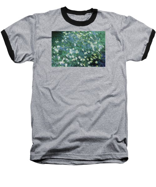 Beautiful Summer Blues Baseball T-Shirt by The Art Of Marilyn Ridoutt-Greene