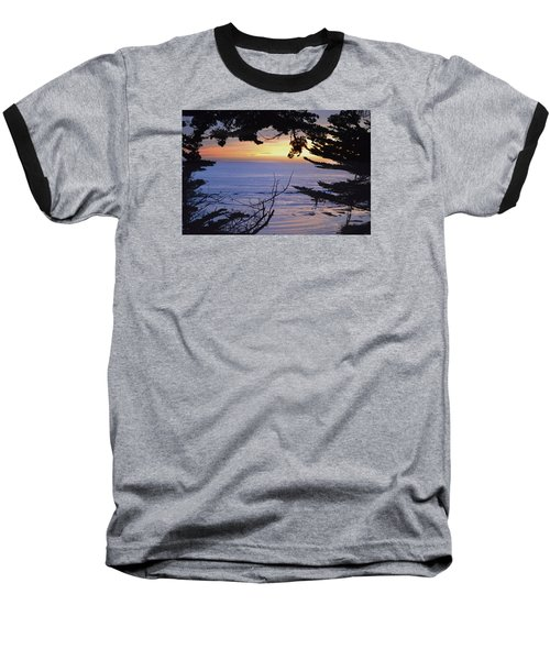 Baseball T-Shirt featuring the photograph Beautiful Sunset by Alex King