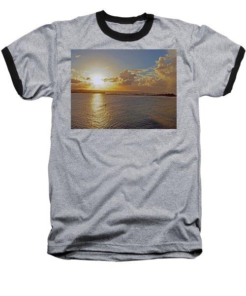 Beautiful Sunset Baseball T-Shirt