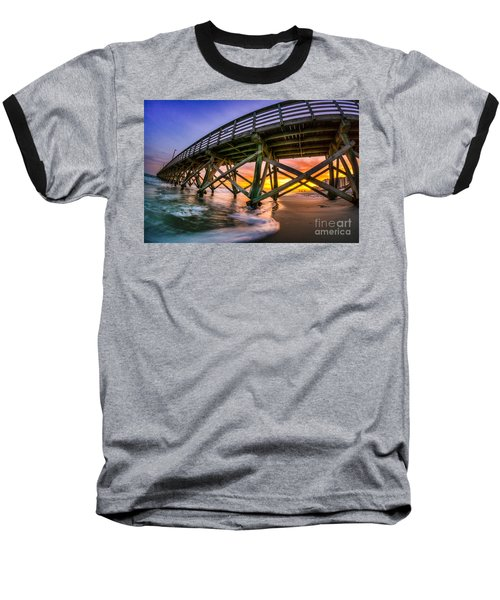 Beautiful Sunset In Myrtle Beach Baseball T-Shirt