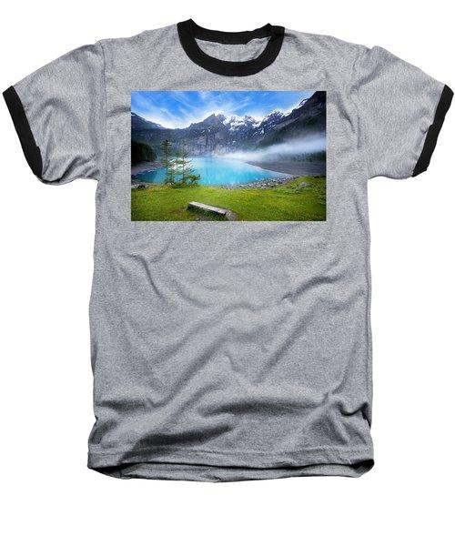 Beautiful Switzerland Baseball T-Shirt
