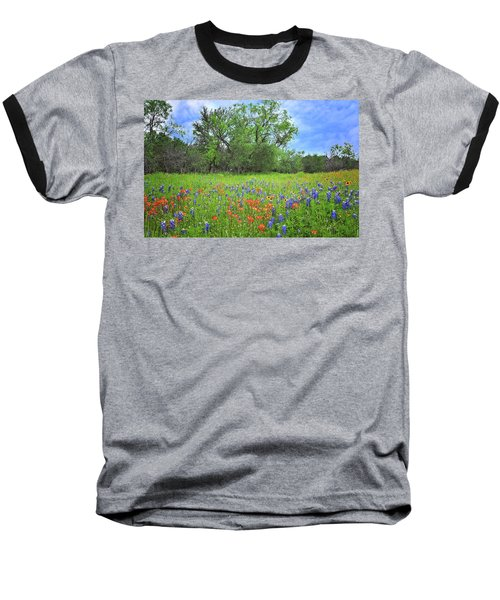 Beautiful Texas Spring Baseball T-Shirt by Lynn Bauer