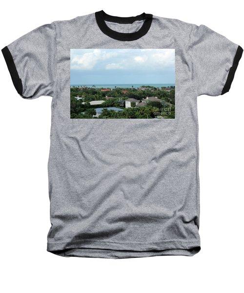 Beautiful Vero Beach Florida Baseball T-Shirt by Megan Dirsa-DuBois
