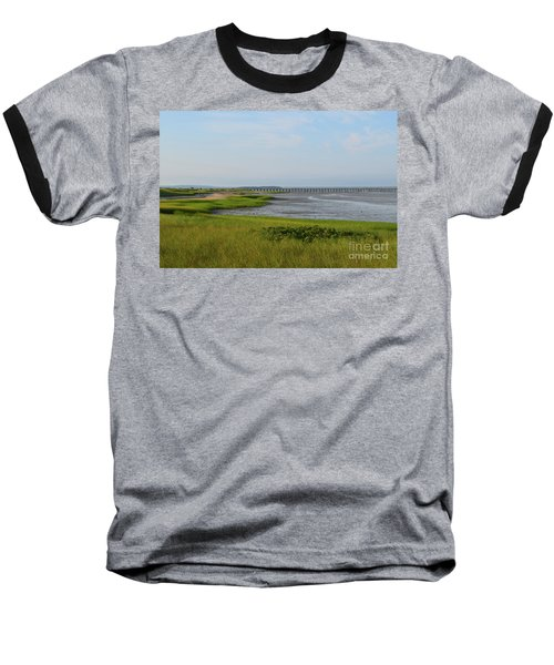 Beautiful Views Of Powder Point Bridge And Duxbury Bay Baseball T-Shirt