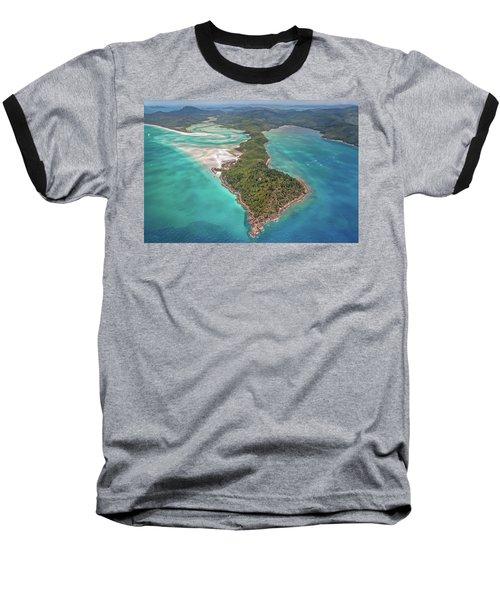 Baseball T-Shirt featuring the photograph Beautiful Whitsundays by Az Jackson