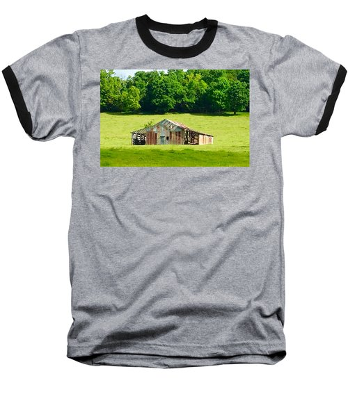 Beautifully Noble Barn Baseball T-Shirt