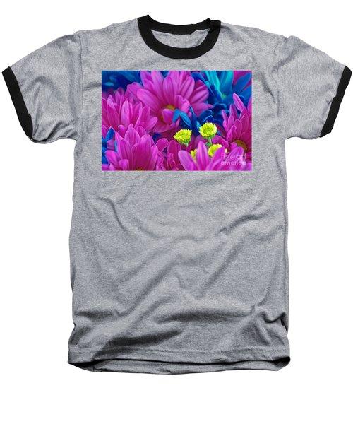 Beauty Among Beauty Baseball T-Shirt by Ray Shrewsberry
