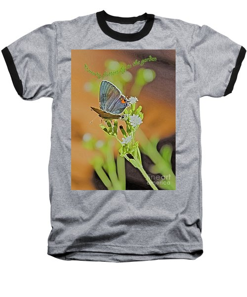 Beauty Flutters By Baseball T-Shirt