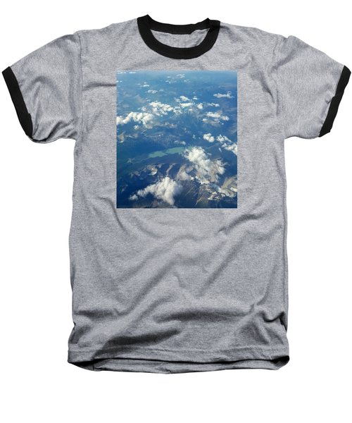 Beauty From The Skies Baseball T-Shirt