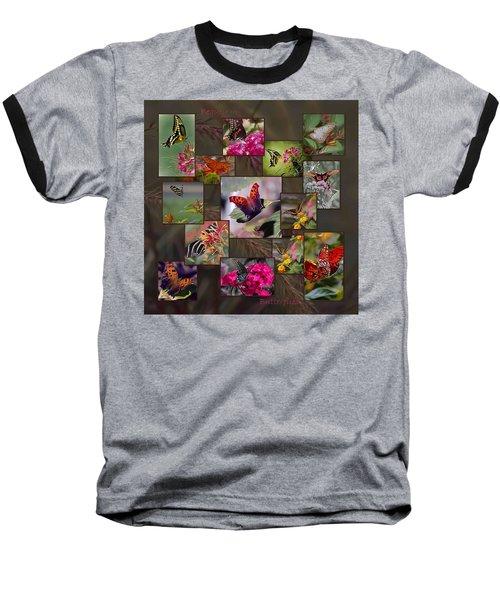 Beauty In Butterflies Baseball T-Shirt