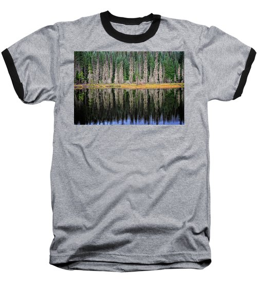 Beauty In Idaho Bog Baseball T-Shirt
