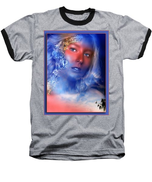 Beauty In The Clouds Baseball T-Shirt