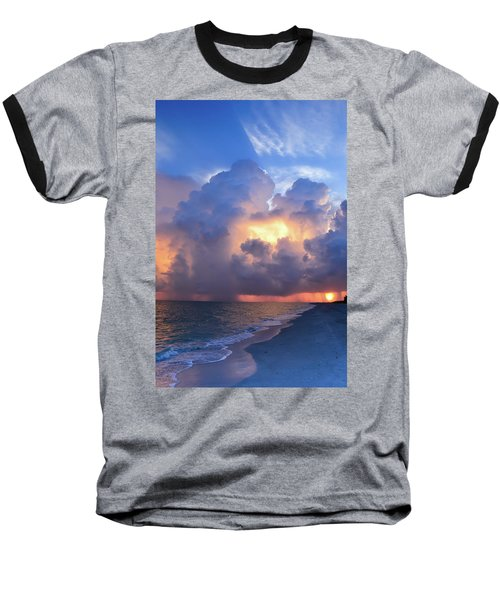 Beauty In The Darkest Skies II Baseball T-Shirt