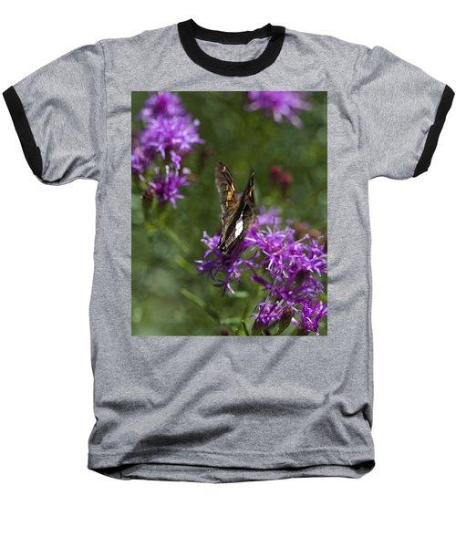 Beauty In The Garden Baseball T-Shirt by Nikki McInnes