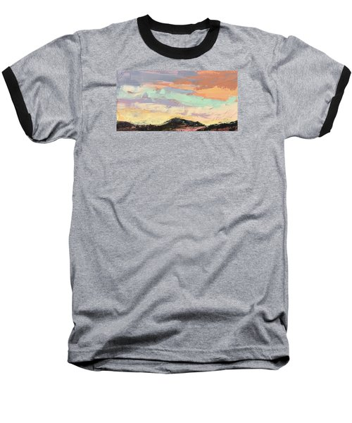 Beauty In The Journey Baseball T-Shirt by Nathan Rhoads