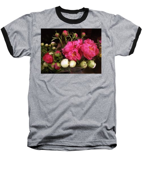 Beauty In The Whole Foods Flower Dept. Baseball T-Shirt