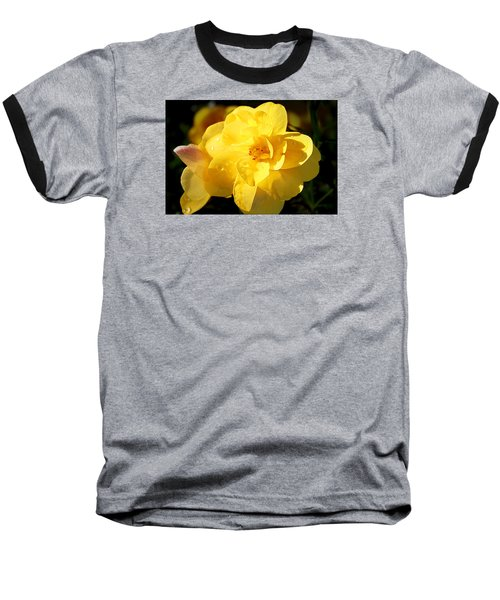 Baseball T-Shirt featuring the photograph Beauty In Yellow by Milena Ilieva