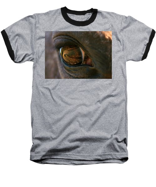 Beauty Is In The Eye Of The Beholder Baseball T-Shirt